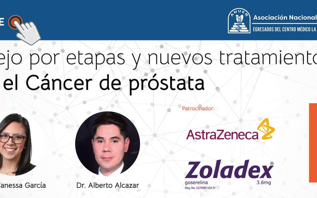 Manejo por etapas y nuevos tratamientos para el Cáncer de Próstata