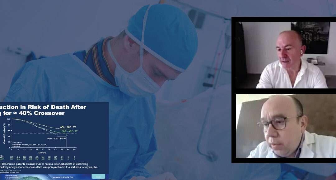 Terapias innovadoras en el cancer de prostata metastásico sensible a la castración